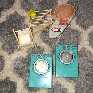 Laundry set:American girl dolls (read description)